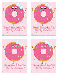 Valentine S Day Flags Elegant Valentines Day Donut Cards Selection Valentines Day