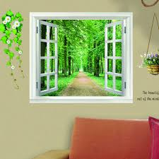 Wall Mural Dense Forests Peel Online Buy Wholesale Beautiful View Wallpaper From China Beautiful