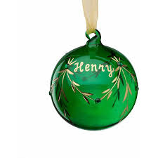 birthstone ornament personalized glass christmas ornament may birthstone walmart