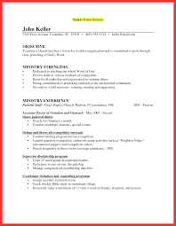 Ministry Resume Templates 100 Minister Resume Sle Resume Template Sle Ministry