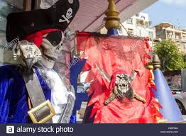 beirut lebanon 25th oct 2016 a shop selling halloween costumes