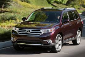 colors for toyota highlander 2013 toyota highlander overview cars com