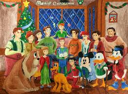 disney hawkins merry christmas simpsonsquire deviantart