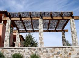 Pergola With Shade by Willow Shade Panels The Willow Farm