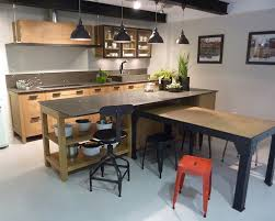 cuisine industrielle cuisine sur mesure style industriel traditionnel ou contemporain