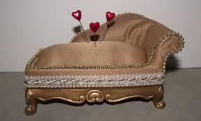 chaise en pin how to a pin cushion miniature chaise lounge