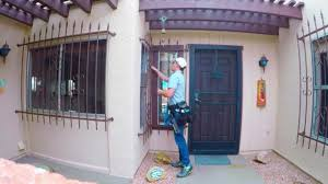 home window security bars window cleaning with security bars part 2 youtube