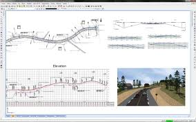 design software road design software calculate catchment area geomensura