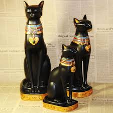 Taiwan Home Decor Resin Crafts Exotic Egyptian Cat God Home Crafts Ornaments Home