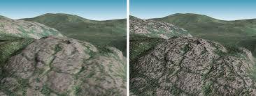 bump map 3d terrain maps bump maps