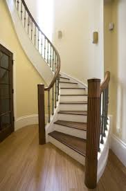 stair charming image of staircase decorating ideas using curved
