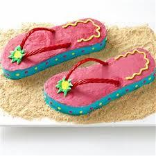 flip flop flip flop cakes recipe taste of home