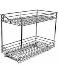 lynk under cabinet storage great deals on lynk professional roll out double shelf pull out