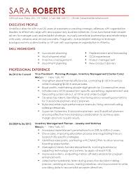 sample journeyman electrician resume inventory experience resume resume for your job application resume templates vice president of inventory management