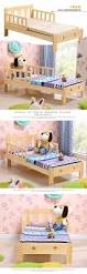 Children Beds Children Beds Children Furniture 200 100 70cm Solid Wood Can