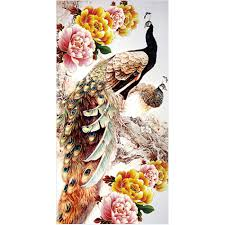Peacock Home Decor Popular Peacock Embroidery Buy Cheap Peacock Embroidery Lots From