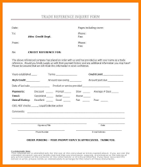 4 credit reference form authorized letter