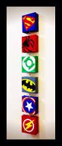 oil painting canvas super hero superman batman cartoon modular