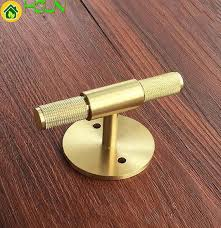kitchen cabinet door handles with backplate 2021 1 2 copper brass t knobs cabinet knob pull handle