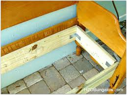 Bench From Headboard How To Make An Easy Headboard Bench