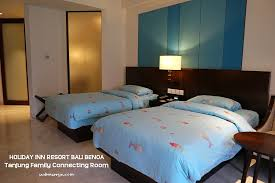 Bali With Kids Holiday Inn Resort Bali Benoa  Home Is Where My - Holiday inn family room