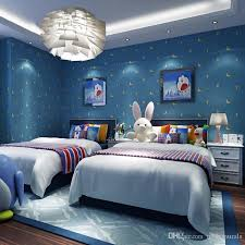 modern kids room wallpaper cartoon star moon cute stars warm and