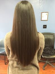 how to cut hair straight across in back long hairstyles u shaped v shaped or straight across back