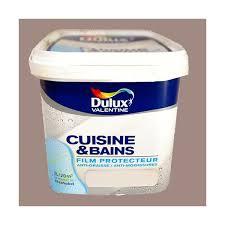peinture cuisine et bain dulux peinture acrylique cuisine et salle de bains crème