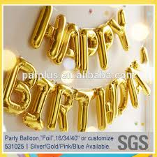 balloon decorations mylar number letter custom foil mylar letter number 0 9 alphabet a z metallic balloon