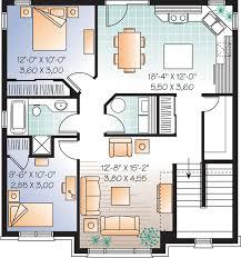 multi family plan 64883 at familyhomeplans com