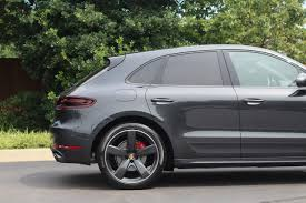 Porsche Macan Grey - pre owned 2017 porsche macan gts