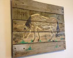 artwork on wood farm plank etsy