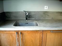 beton ciré pour plan de travail cuisine beton cire plan de travail cuisine sur carrelage b ton cir pour