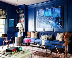 Blue Accent Chairs For Living Room Living Room Wonderful Cobalt Blue Living Room Throughout Modern
