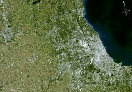 Chicago City Limits Map by Nasa Know Your Earth 2 0 Chicago Wilderness