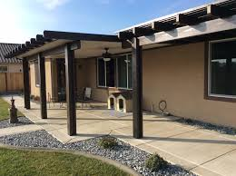 Elitewood Aluminum Patio Covers Lattice Covers Sc Construction Modesto Ca