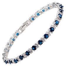 sapphire bracelet images Sapphire bracelet amazon co uk jpg