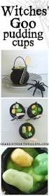 halloween cauldrons halloween pudding cups witches u0027 goo in mini cauldrons