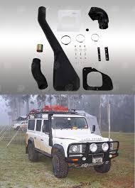 land rover snorkel snorkel land rover defender td5 santana ps10 accessoires4x4 ch