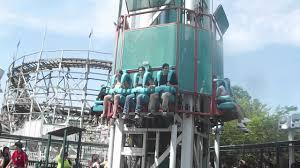 Six Flags Ma Scream Tower Six Flags New England Ma Youtube