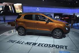 2018 ford ecosport looks ugly as sin in los angeles autoevolution
