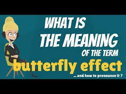 what is butterfly effect what does butterfly effect