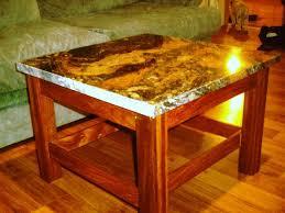 Granite Top Coffee Table Granite Top Coffee Table By Inspectorchuck Lumberjocks Com