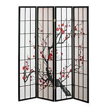 Room Dividers Amazon by Amazon Com 4 Panel Cherry Blossom Design Room Divider 4 Panel