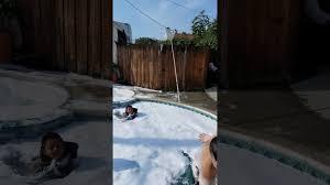 pool bubble bath youtube