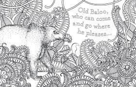 jungle book coloring photo gallery of jungle coloring book at best