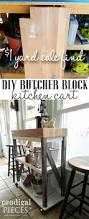 diy butcher block cart prodigal pieces a 1 garage sale find gets turned into a diy butcher block