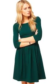 simple dresses green half sleeves simple dress casual dresses women casual