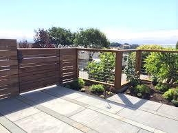 modern horizontal cedar fencing w hogwire fencing panels fences