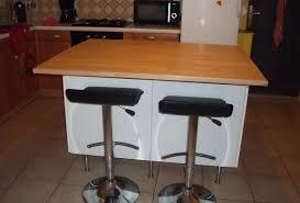 fabriquer un ilot de cuisine superbe cuisine avec ilot table 7 fabriquer ilot central sur